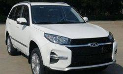 The restyling of the Chery Tiggo 3: design the flagship Tiggo 8 and the new motor