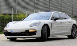 Porsche is working on a facelift of the popular model