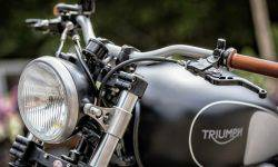 Triumph prepares its first motorcycle