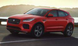Crossover Jaguar E-Pace is now available in a special flagship version of Checkered Flag