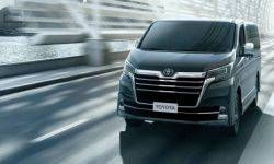 Toyota introduced the luxurious Granvia van