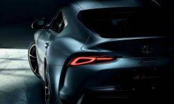 For the first time Toyota will release a Supra with matte painting