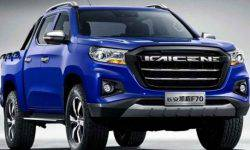 """New truck Peugeot will become a """"clone"""" Chinese Changan F70"""