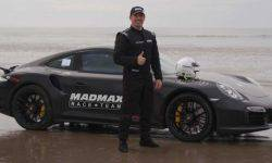 The British rider set a world speed record on the sand