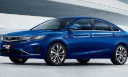 Updated Geely Emgrand sedan GL with a Volvo motor