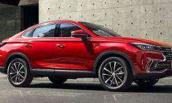 The cross-coupe Changan CS85 Coupe became available in the budget execution