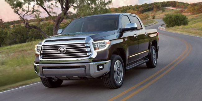 The new generation Toyota Tundra will receive a hybrid motor