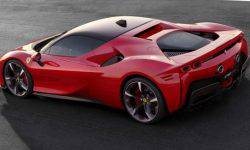 Ferrari has officially unveiled the hybrid supercar SF90 Stradale