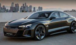Published patent images of the Audi E-Tron GT