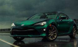 Toyota has dedicated a special version of the GT86 mountain road in Japan