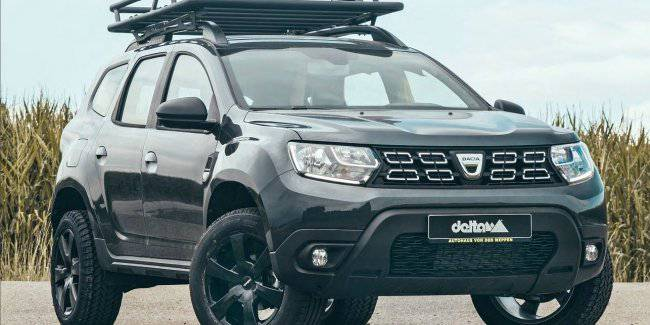German Tuners From Delta Introduced The Off Road 4x4 Renault Duster