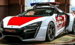 Dubai police never ceases to amaze: the most unusual Arab supercar