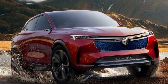 Buick has approved the release of a new kupeobrazny crossover