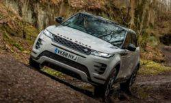 The Range Rover Evoque will not be electric in the near future
