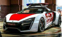 The Abu Dhabi police to get hold of another exclusive hypercar