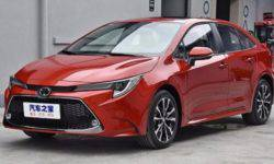 Alternative Toyota Corolla 2019 was sportier