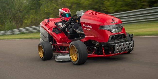 Lawn mower Honda Mean Mower V2 has set a new Guinness record