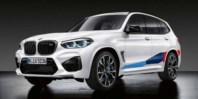 """BMW additionally """"warmed up"""" crossovers X3 M and X4 M"""