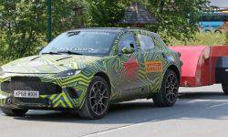 On the test seen a prototype of the new crossover Aston Martin DBX