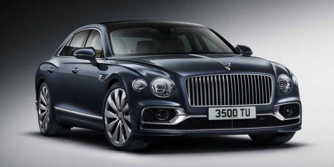 Bentley presented the third generation of the luxury sedan Flying Spur