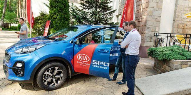 """Inspector"" KIA Sportage on the hospitality business trengo"