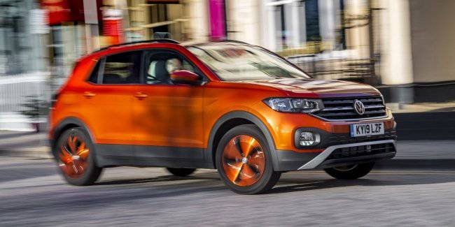 Volkswagen has added a new diesel engine family of crossovers T-Cross