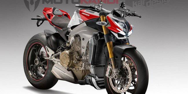 New Ducati streetfighter is preparing to start