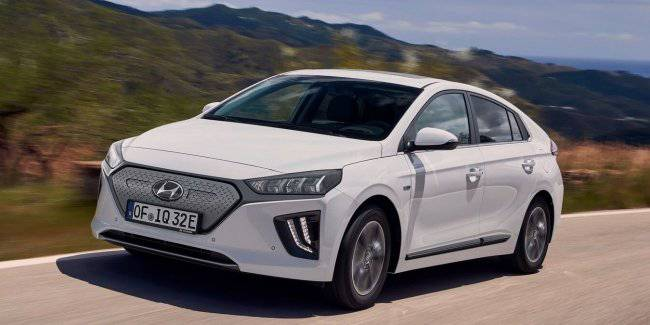Hyundai has announced prices for the updated electric Ioniq 2019