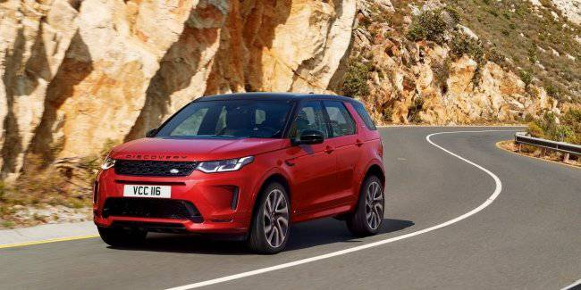 Updated Land Rover Discovery Sport: the safety and tranquility of your family