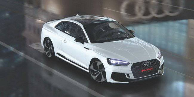 Are the special version of the Audi RS5 with a 444-horsepower engine