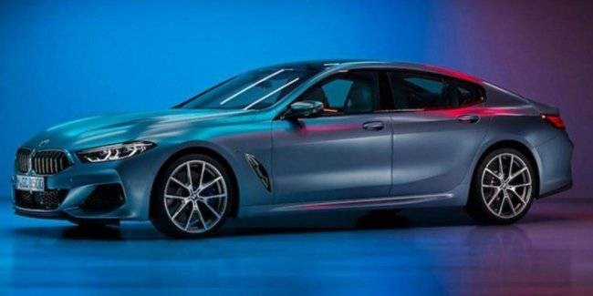 """Some photos of the BMW 8 Series Gran coupé 2020 """"leaked"""" to the Network"""