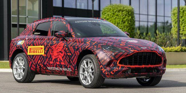 Aston Martin started production of crossover DBX