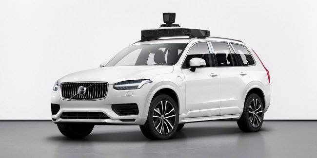 Volvo Cars and Uber present unmanned production car