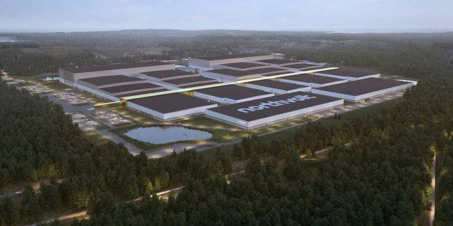 Volkswagen and BMW are investing billions of euros in a plant for the production of batteries for electric vehicles
