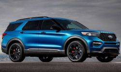 Shod new Ford Explorer in tires from Mercedes