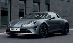 Alpine introduces a modification of the sports car A110