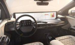 Byton showed the interior of their new electric SUV M-Byte