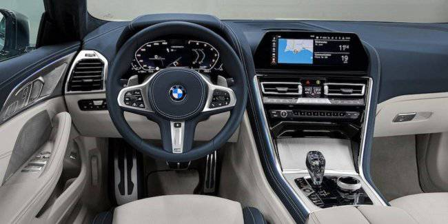 In the Network leaked photos of the interior of the BMW 8 series Gran Coupe
