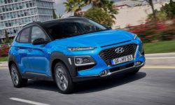 Crossover Hyundai Kona has become a hybrid