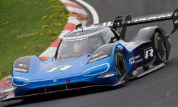 Volkswagen ID. R became the fastest electric cars of the Nurburgring