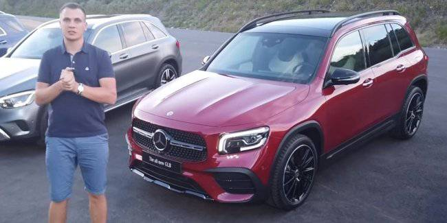 Review of the new Mercedes-Benz GLB 2020. What are you?
