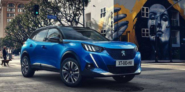 Peugeot officially introduced a new generation crossover 2008