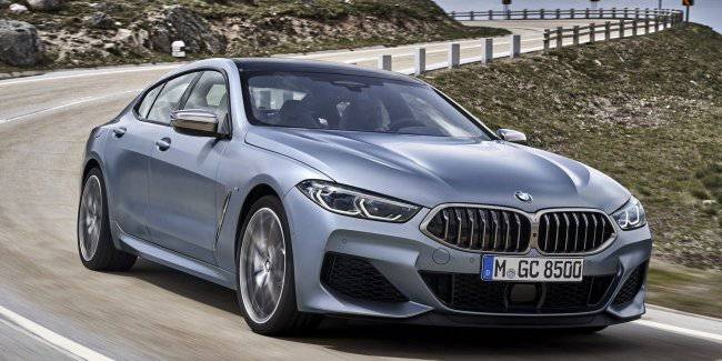 BMW has officially unveiled the 8 Series Gran Coupe