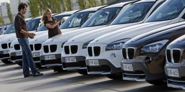 The car market of Europe in may stopped falling