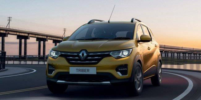 Renault has unveiled a budget compact MPV Triber