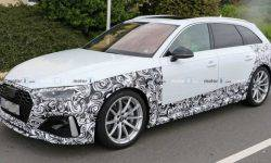 Updated Audi RS4 Avant is almost ready for presentation