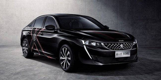 Peugeot 508L will receive a limited edition X-Men