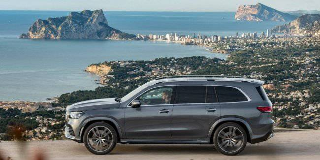 Announced prices for the updated Mercedes GLS in version 580 in USA