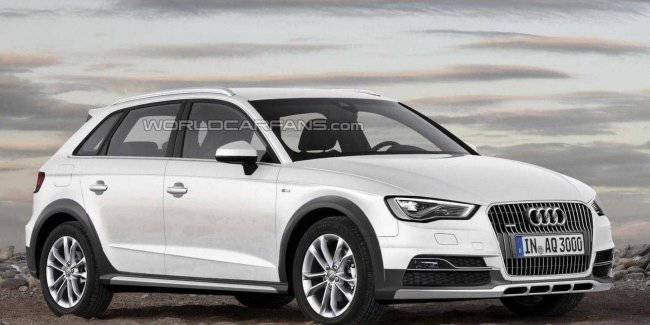 Audi will release a festive version of the A3 hatchback?