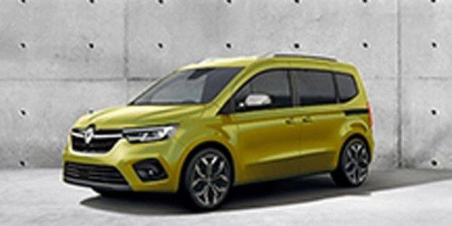 The first image of the new Renault Kangoo appeared online